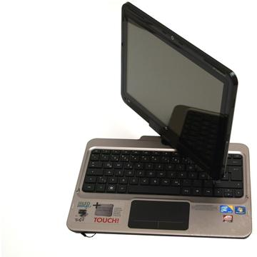 Laptop second hand HP TouchSmart tm2 Intel SU4100 1.3 GHz 4GB DDR3 320GB HDD ATI HD 4550 512MB 12.1 Inch TouchScreen Webcam
