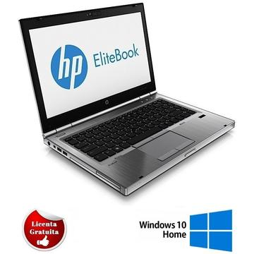 Laptop refurbished HP Elitebook 8470p Intel Core i5-3320M 2.6GHz up to 3.3GHz 4GB DDR3 128GB SSD INTEL HD GRAPHICS 4000 DVD-ROM Webcam 14 inch LED HD Soft Preinstalat Windows 10 Home