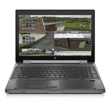Laptop refurbished HP EliteBook 8570w i7-3520M 2.9GHz up to 3.6GHz 8GB DDR3 HDD 320GB Sata nVidia Quadro K1000M 2GB GDDR3 DVD-RW Webcam 15.6inch 1920x1080 FHD Soft Preinstalat Windows 10 Professional