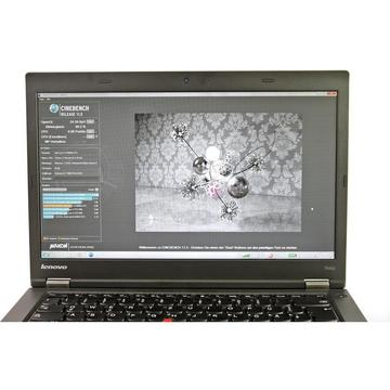 Laptop second hand Lenovo ThinkPad T440 I5-4300U 1.9GHz 4GB DDR3 320GB HDD 14inch Webcam