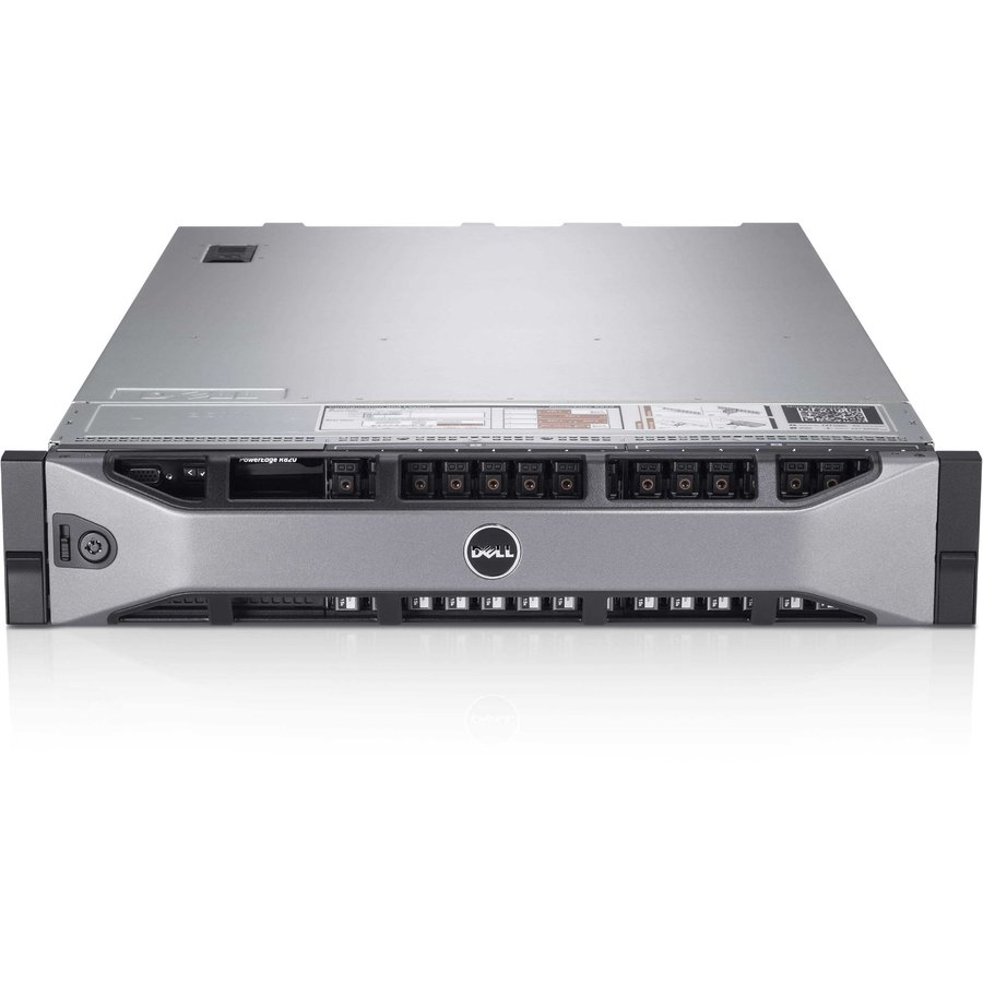 Server second hand Poweredge R820 4 X E5-4640 2.1 GHz up to 2.6 GHz 128GB Ram DDR3 1TB 7.2K HDD 2 x 1100 W Power Source