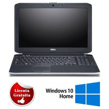 Laptop refurbished Dell E5530 I3-3110M 2.4GHz 4GB DDR3 HDD 320GB Sata DVD-RW 15.6 inch Webcam Soft Preinstalat Windows 10 Home