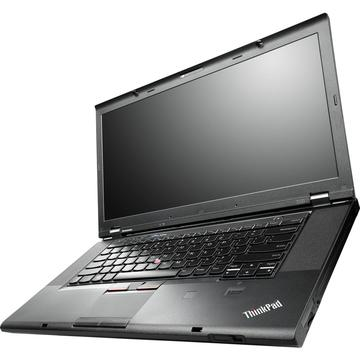 Laptop refurbished Lenovo ThinkPad T530 I5-3320M 2.6GHz up to 3.3 GHz 4GB DDR3 HDD 320GB Sata nVidia Quadro NVS 5400M 1GB DVD 15.6 inch Webcam Soft Preinstalat Windows 10 Professional