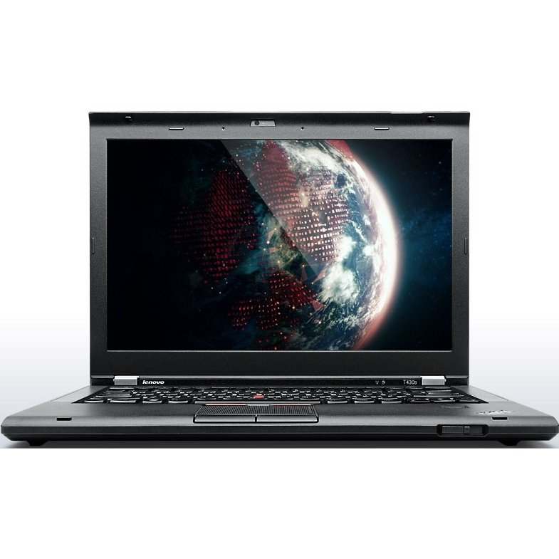 Laptop second hand ThinkPad T430s i5-3320M 2.6GHz up to 3.3GHz 8GB DDR3 128GB SSD Webcam 14 Inch 1600x900