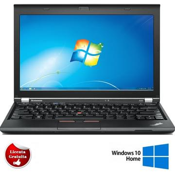 Laptop refurbished Lenovo ThinkPad X230 i5-3320M 2.6GHz up to 3.3GHz 4GB DDR3 320GB 12.5 Inch Webcam Soft Preinstalat Windows 10 Home