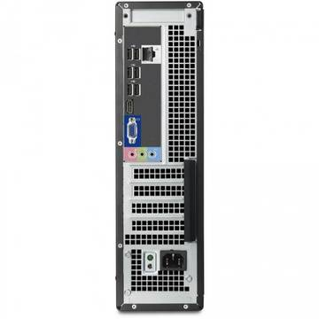 Calculator second hand Dell OptiPlex 745 Core 2 Duo E6400 2.13GHz 1GB DDR2 80GB HDD Sata Ultra SFF Desktop