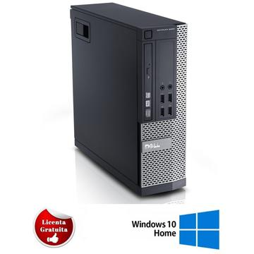 Calculator refurbished Dell Optiplex 9020 Intel i7-4770 3.40GHz 8GB SSD 256GB DVD-ROM SFF Soft Preinstalat Windows 10 Professional