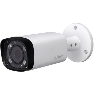 Produs NOU Camera supraveghere analog Camera Analogica Dahua HAC-HFW1100R-VF-IRE6, HD-CVI, Bullet, 1MP, 2.7 - 12mm, 4 LED, IR 60m, D-WDR, Rating IP67, Carcasa aluminiu