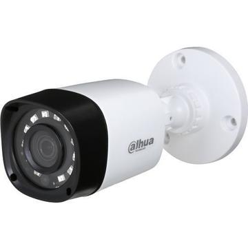 Produs NOU Camera supraveghere analog Camera Analogica Dahua HAC-HFW1200R S3, HD-CVI, Bullet, 2MP 1080p, 3.6mm, 12 LED, IR 20m, Rating IP67, Carcasa plastic