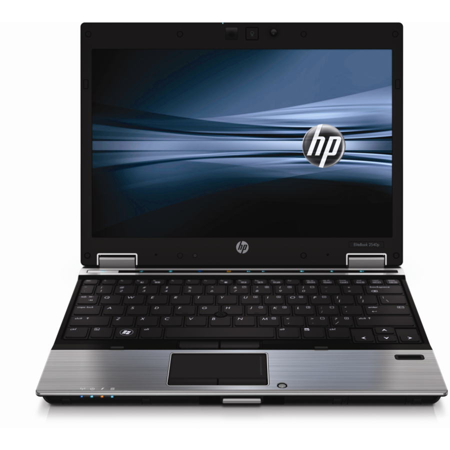 Laptop second hand EliteBook 2540p i5-450M 2.53GHz 4GB DDR3 NO HDD DVD-RW Webcam 12.1 Inch