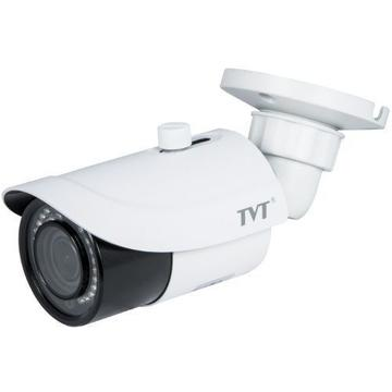 Camera supraveghere IP Camera IP TVT TD-9442S2(D/FZ/PE/IR2), Bullet, H.265, 4MP, CMOS 1/3 inch, 3.3-12mm, 36 LED, IR 30m,  PoE, Carcasa metal