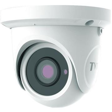 Camera supraveghere IP Camera IP TVT TD-9524S1(D/PE/IR1), Dome, 2MP 1080p, CMOS 1/2.8 inch, 2.8mm, 10 LED Array, IR 20M, Carcasa metal, PoE