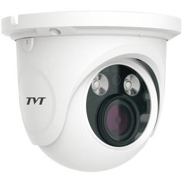 Camera supraveghere IP Camera IP TVT TD-9525S1(D/FZ/PE/AR2), Dome, 2MP, CMOS 1/2.8 inch, 2.8-12mm, 2 LED Array, IR 30M, PoE, Carcasa metal