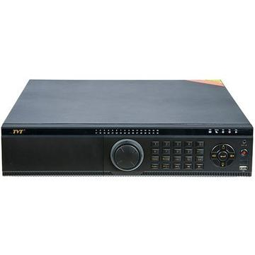 Produs NOU NVR NVR Network Video Recorder TVT TD-3532H8, H.265 4K, 32 canale, max. 8MP, 1080P@30fps, playback 16 canale, Audio x1,  Alarma: in x8, out x4, SATA x 8