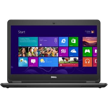 Laptop second hand Dell Latitude E7440 Intel Core i5-4300U 2.50GHz up to 2.90GHz  8GB DDR3 256GB SSD Webcam 14 inch FHD 1920x1080