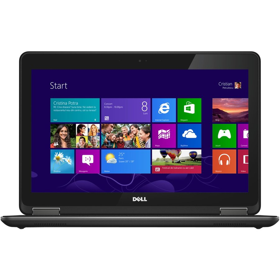 Laptop second hand Latitude E7240 Intel Core i7-4600U 2.10GHz up to 3.30GHz 8GB DDR3 256GB SSD Webcam 12.5 inch