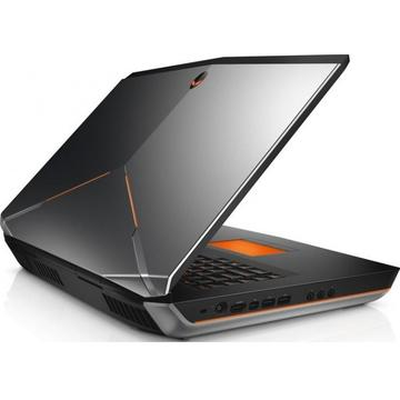 "Laptop second hand Dell AlienWare 18 i7-4900MQ 2.80GHz up to 3.80GHz 32GB DDR3 256GB SSD + 1TB HDD Dual NVIDIA GeForce GTX 780M 8GB GDDR5 18.4"" WLED FHD (1920x1080) DVD-RW Tastatura Iluminata"
