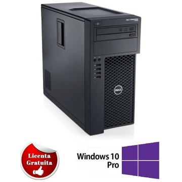 Calculator refurbished Dell T1650 XEON E3-1225 V2-3.20GHz 8GB DDR3 500GB HDD DVD-ROM TOWER Soft Preinstalat Windows 10 Professional
