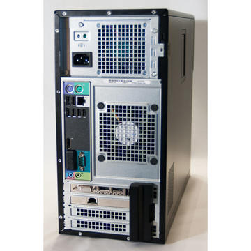 WorkStation second hand Dell T1600 XEON E3-1225 3.10GHz 8GB DDR3 250GB HDD DVD-ROM TOWER