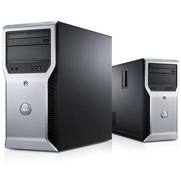 Calculator refurbished Dell T1600 XEON E3-1225 3.10GHz 8GB DDR3 500GB HDD DVD-ROM Tower Soft Preinstalat Windows 10 Professional