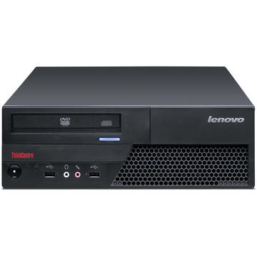 Calculator second hand Lenovo ThinkCentre M58 Core 2 Duo E7500 2.93GHz 4GB DDR3 250GB HDD DVD-RW DESKTOP