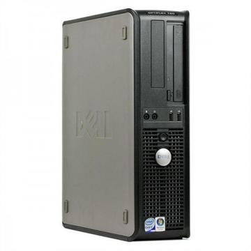 Calculator second hand Dell Optiplex 760 Core 2 Duo E8400 3.00GHz 4GB DDR2 160GB HDD DVD-ROM SFF