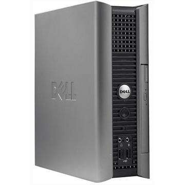 Calculator second hand Dell Optiplex 760 Core 2 Duo E8400 3.00GHz 4GB DDR2 160GB HDD DVD-ROM USFF