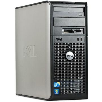 Calculator second hand Dell Optiplex 780 Tower Intel Core2 Quad Q9400 2.66GHz 4GB DDR3 320GB HDD DVD-RW