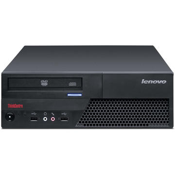 Calculator second hand Lenovo ThinkCentre M58 Core 2 Duo E7400 2.80GHz 4GB DDR3 160GB HDD DVD-RW DESKTOP