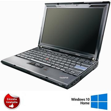 Laptop refurbished Lenovo ThinkPad X201 Intel Core i5-540M 2.53GHz 4GB DDR3 160GB HDD 12.1 inch Soft Preinstalat Windows 10 Home
