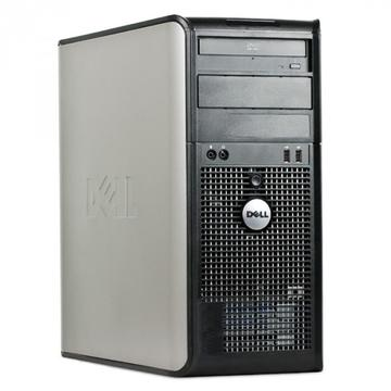 Calculator second hand Dell Optiplex 755 Intel Core2 Duo E8400 3.00GHz 4GB DDR2 250GB HDD DVD-ROM TOWER