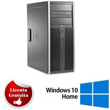 Calculator refurbished HP 6000 PRO Dual Core E5500 2.80GHz 4GB DDR3 160GB HDD DVD-ROM TOWER Soft Preinstalat Windows 10 Home