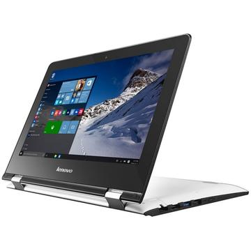 Laptop second hand Lenovo Yoga 300-11IBR Intel Celeron N3050 1.60GHz 4GB DDR3 500GB HDD 11.6 inch Touchscreen