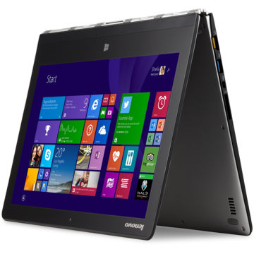 "Laptop second hand Lenovo Yoga 3 Pro-1370 Intel Core M-5Y71 1.2GHz 8GB LPDDR3 512 SSD 13.3"" QHD Touch 3200x1800 Touchscreen Tastatura Iluminata"
