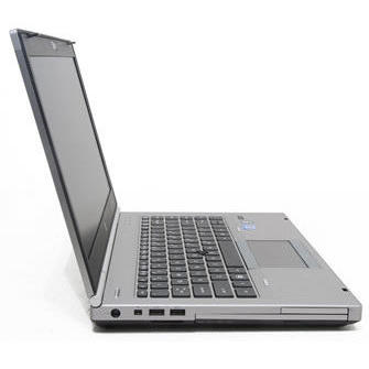 Laptop second hand HP EliteBook 8460p Intel Core i5-2540M 2.60GHz up to 3.30GHz 4GB DDR3 320GB HDD DVD-RW Webcam 14 inch HD