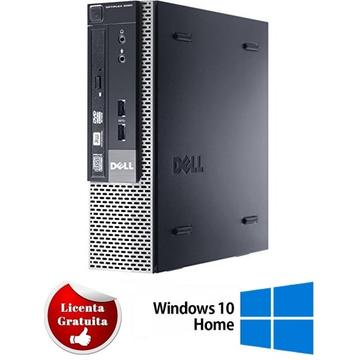 Calculator refurbished Dell Optiplex 9020 i5-4590 3.30GHz 4GB DDR3 250GB HDD DVD-RW SFF Soft Preinstalat Windows 10 Home