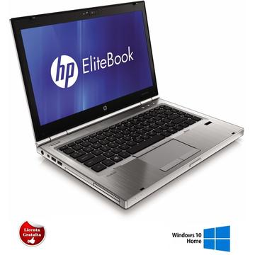 Laptop refurbished HP EliteBook 8460p Intel Core i5-2520M 2.50GHz up to 3.20GHz 4GB DDR3 250GB HDD DVD-RW Webcam 14 inch HD Soft Preinstalat Windows 10 Home
