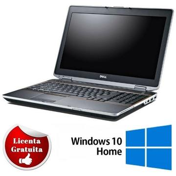 Laptop refurbished Dell Latitude E6520 Intel Core i5-2520M 2.50GHz up to 3.20GHz 4GB DDR3 320GB HDD Nvidia NVS 4200M 1GB GDDR5 DVD-RW 15.6 Inch Soft Preinstalat Windows 10 Home