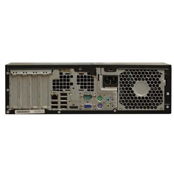 Calculator second hand HP Elite 8200 Intel Core i5-2400 3.1GHz up to 3.4GHz 8GB DDR3 250GB HDD DVD-RW SFF