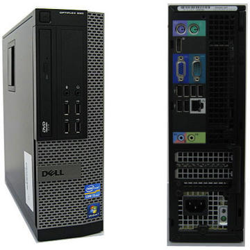 Calculator second hand Dell Optiplex 990 Intel Core I5-2400 3.10GHz 8GB DDR3	250GB HDD DVD-RW SFF