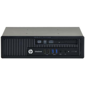 Calculator second hand HP Elitedesk 800 G1 Intel Core i7-4770 3.40GHz 8GB DDR3 HDD 500GB Sata DVD-RW Desktop