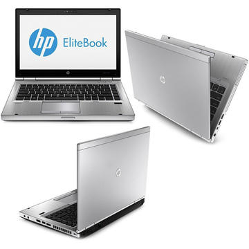 Laptop second hand HP EliteBook 8470p I5-3320M 2.6GHz up to 3.3GHz 8GB DDR3 128GB SSD DVD-RW 14.0 inch Webcam