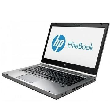 Laptop refurbished HP EliteBook 8470p I5-3320M 2.6GHz up to 3.3GHz 4GB DDR3 500GB HDD DVD-RW 14.0 inch Webcam Soft Preinstalat Windows 10 Home