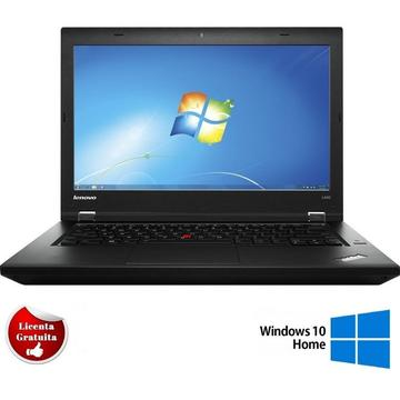 Laptop refurbished Lenovo ThinkPad L440 i5-4300M 2.60GHz 4GB DDR3 500GB HDD DVD-RW 14 inch HD+ 1600x900 Webcam Soft Preinstalat Windows 10 Home
