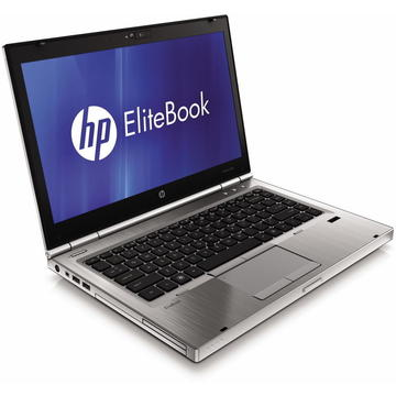 Laptop second hand HP EliteBook 8460p Intel Core i5-2520M 2.50GHz up to 3.20GHz 8GB DDR3 256GB SSD DVD-RW 14 inch HD Webcam