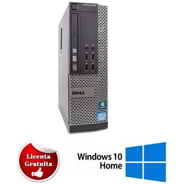 Calculator refurbished Dell Optiplex 990 Intel Core I5-2500 3.30GHz 4 GB DDR3 250GB HDD DVD-RW SFF Soft Preinstalat Windows 10 Home