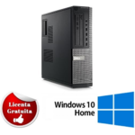 Calculator refurbished Dell Optiplex 790 Intel Core I5-2400 3.10GHz 4GB DDR3 320GB HDD DVD-RW SFF Soft Preinstalat Windows 10 Home