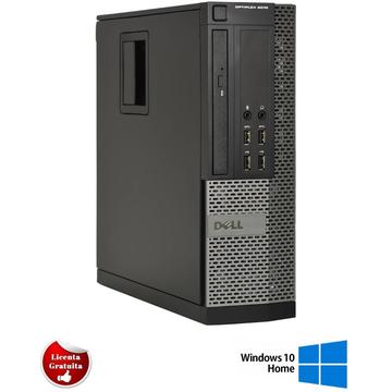 Calculator refurbished Dell Optiplex 9010 Intel Core I5-3470 3.20GHz 4GB DDR3 250GB HDD DVD SFF Soft Preinstalat Windows 10 Home