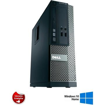 Calculator refurbished Dell Optiplex 390 Intel Core I5-2400 3 10GHz 4GB  DDR3 250GB HDD DVD SFF Soft Preinstalat Windows 10 Home