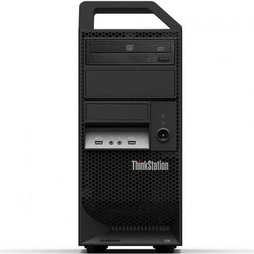 Calculator second hand Lenovo ThinkStation E30 Intel Xeon E31225 3.10GHz 4GB DDR3 160GB HDD DVD-RW Tower